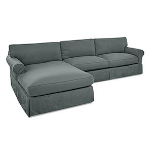 Olivia Lagoon Down Blend Sofa Sectional