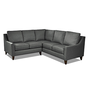 Gianni Charcoal 87-Inch L Shape Sectional