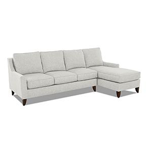Gianni Sand 64-Inch Sectional Sofa