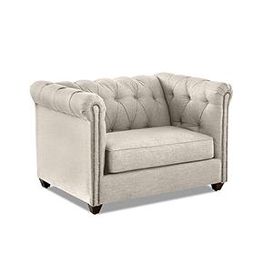 Keaton Linen Big Chair