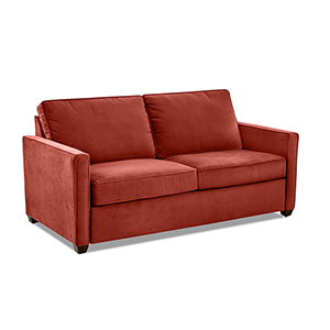 Miranda Rouge Regular Sleeper Sofa