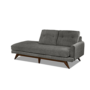 Kendal Tweed 87-Inch Chaise Lounge