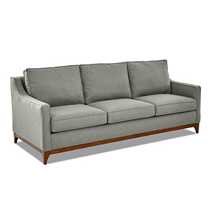 Ansley Ash Wood Base Sofa