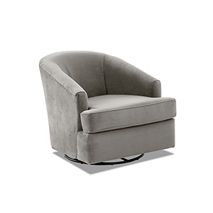Lamar Otter Swivel Gliding Chair