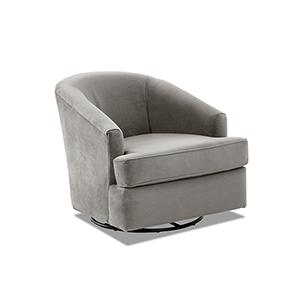 Lamar Otter Swivel Gliding Chair