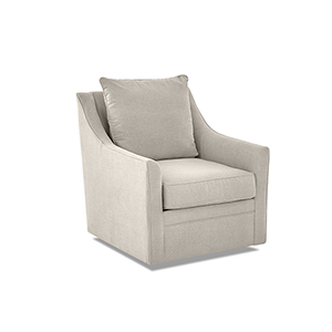Renee Linen Swivel Chair
