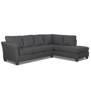 Drew Sectional Left Sofa, Right Chaise Libre/Earth