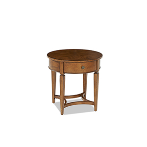 Wentworth Round End Table