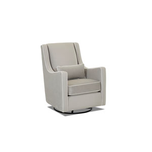 Landis Swivel Gliding Rocker, Grey