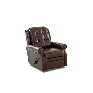 Sand Key Leather Reclining Rocking Chair