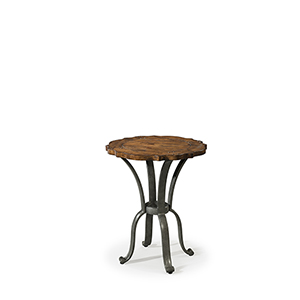 Southern Pines Dormie Round Lampside Table