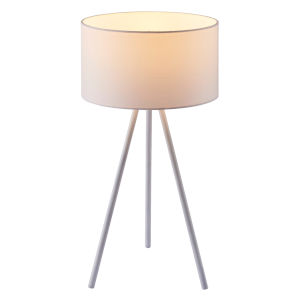 Eli White Accent Table Lamp