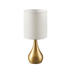 Sarah Polished Brass Accent Table Lamp