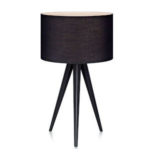 Romanza Black Accent Table Lamp