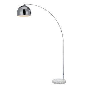 Arquer Chrome Arc Floor Lamp