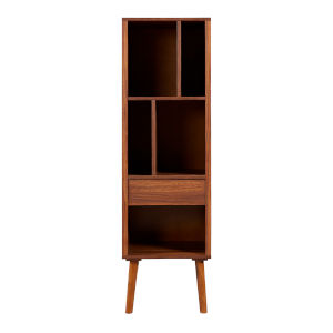 Edison Walnut Bookcase