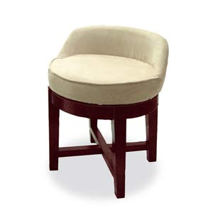 Espresso Swivel Chair
