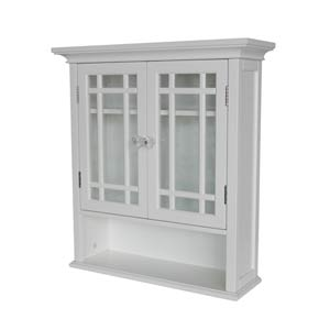 Neal Wall Cabinet with Two Doors and One shelf