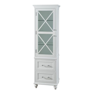 Riley Linen Tower with 2 Drawers