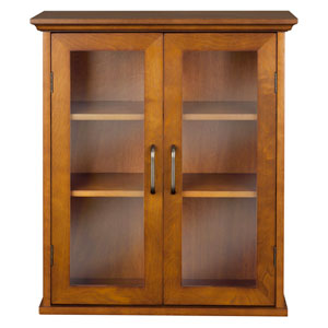 Avery Oak Wall Cabinet with Two-Doors