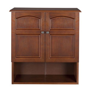 Martha Mahogany Wall Cabinet Two Doors