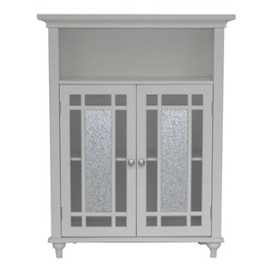 Windsor White Double Door Floor Cabinet