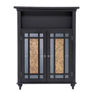Windsor Dark Espresso Double Door Floor Cabinet