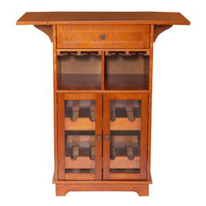 Peoria Mahogany Multi Wine Cabinet