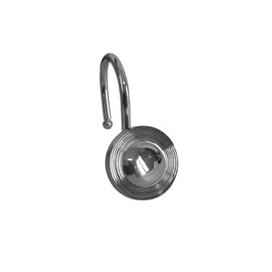 Shower Hooks Chrome Multiple Circle