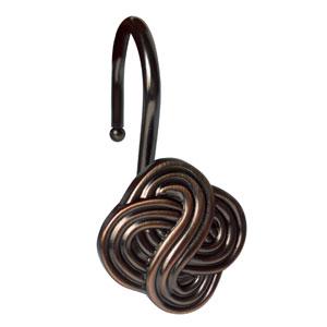 Shower Hooks Oil Rubbed Bronze Gaelic Knot