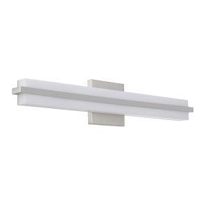 Seger Brushed Polished Nickel 24-Inch LED Vanity
