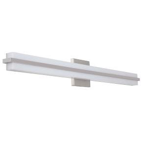 Seger Brushed Polished Nickel 35-Inch LED Vanity