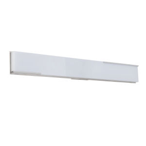 Vibe Brushed Polished Nickel 35-Inch LED Vanity