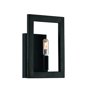 Portrait Espresso One-Light Wall Sconce