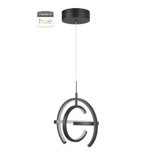 Dolby Matte Black LED Pendant