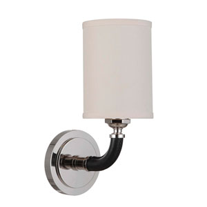 Huxley Polished Nickel 5-Inch One-Light Wall Sconce