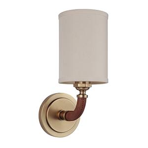 Huxley Vintage Brass One-Light Wall Sconce