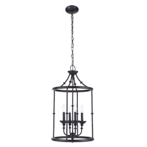 Marlowe Flat Black Four-Light Pendant