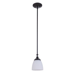 Marlowe Flat Black One-Light Mini Pendant