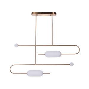 Tuli Satin Brass LED Pendant