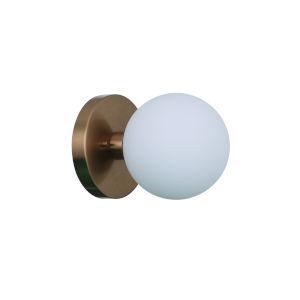 Dotti Satin Brass One-Light Wall Sconce