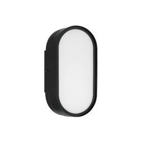 Melody Flat Black LED Wall Sconce