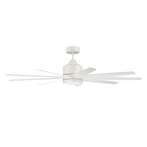 Champion Matte White 60-Inch LED Ceiling Fan