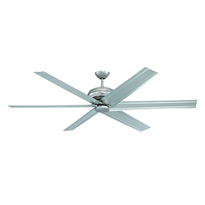 Colossus Brushed Satin Nickel Ceiling Fan