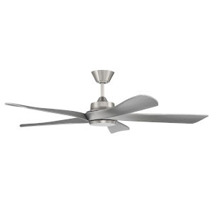 Captivate Brushed Polished Nickel 52-Inch Ceiling Fan