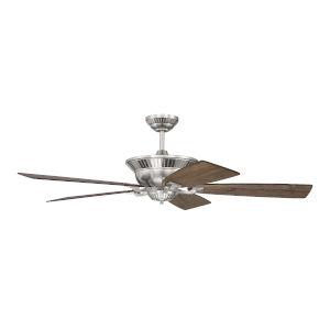 Forum Brushed Polished Nickel 52-Inch Ceiling Fan