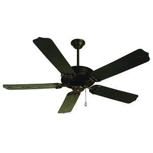 Porch Fan Oiled Bronze 52-Inch Ceiling Fan