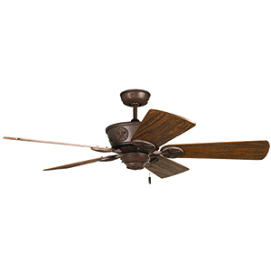 Chaparral Aged Bronze Textured Ceiling Fan
