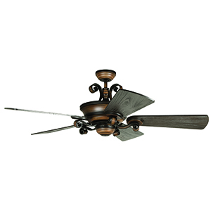 Seville Espana Spanish Bronze Ceiling Fan