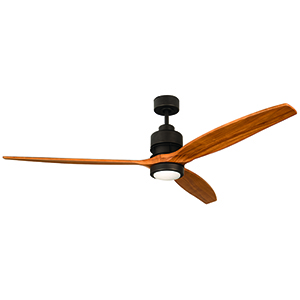 Sonnet Espresso 52-Inch Ceiling Fan with LED Light